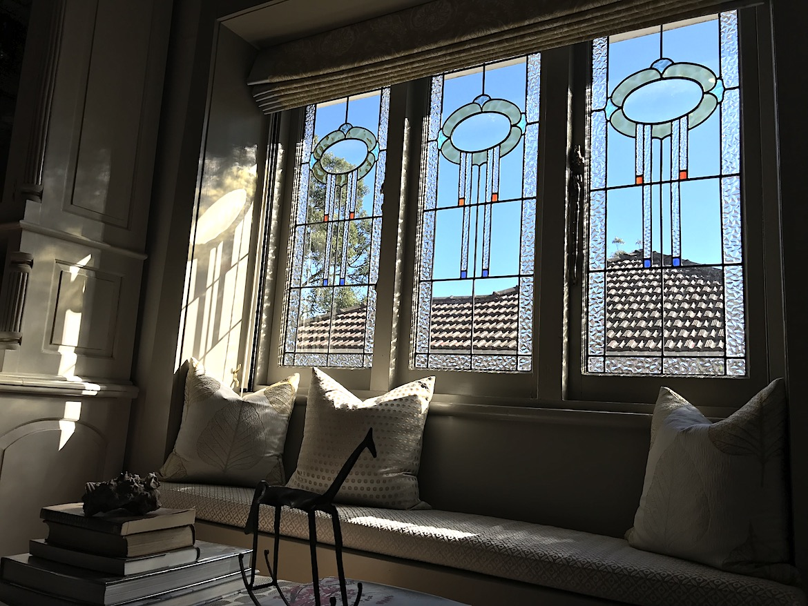 Restoration completed on the set of 3 stained glass windows.