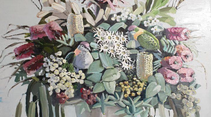 Floral arrangement by Jane Guthleben