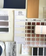 colour swatches interior
