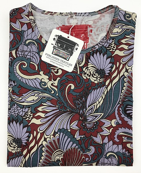 RUBY RABBIT PRINTED SHIRT FROM PUBLISHER TEXTILES AND PAPERS