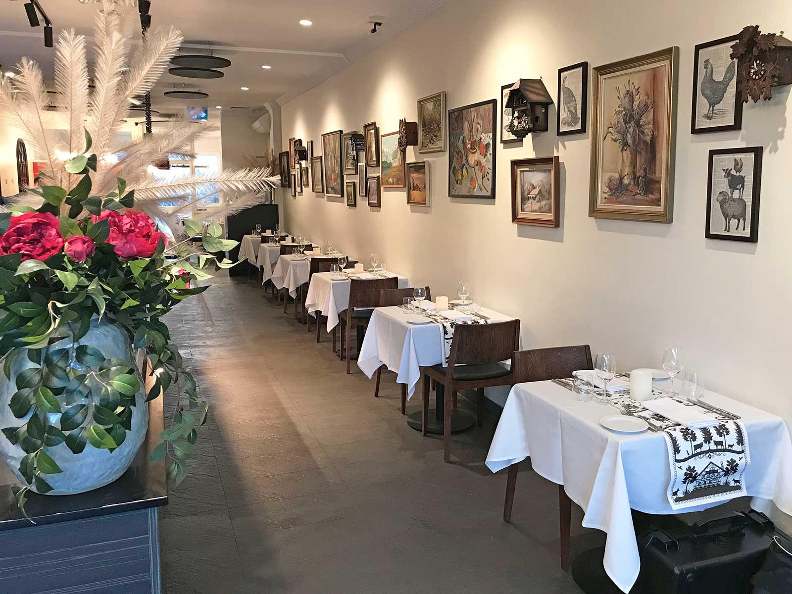Restaurant Custom Design Dining Space